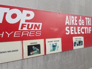 Tri sélectif Top Fun Hyères Var 83