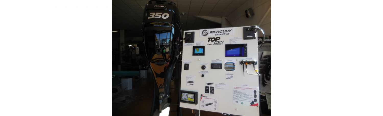Instrumentation de moteur Mercury Smartcraft