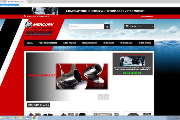 Achetez vos pièces détachées d'origine Mercury ® en ligne !